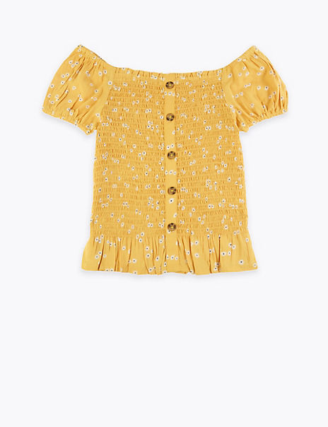Floral Blouse (6-16 Years)