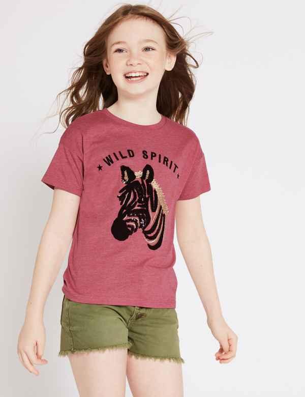 797c3d375 Girls Tops & T Shirts | M&S