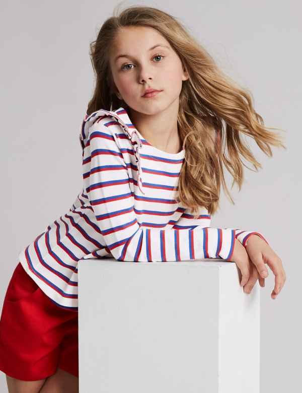 d01c67d9 Tops | Girls Clothes - Little Girls Designer Clothing Online | M&S