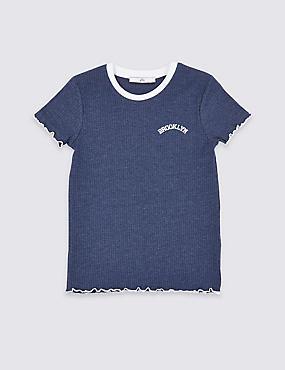 a2f4311622d9 Žebrované tričko (3–16 nbsp let)