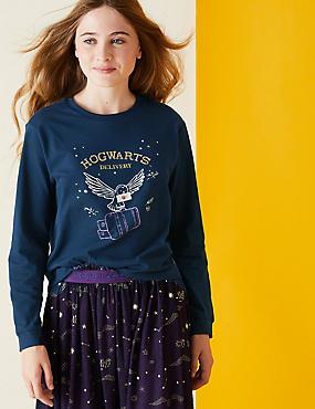 Top 100% coton à motif Harry Potter™, orné de sequins (du 2 au 16ans)
