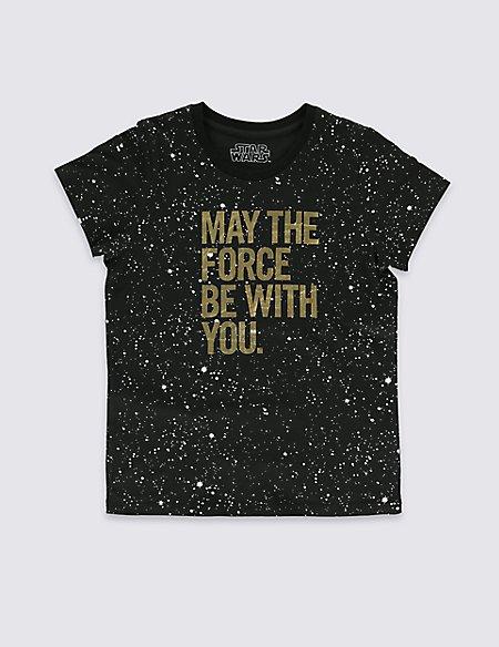 Star Wars™ Pure Cotton T-Shirt (5-14 Years)