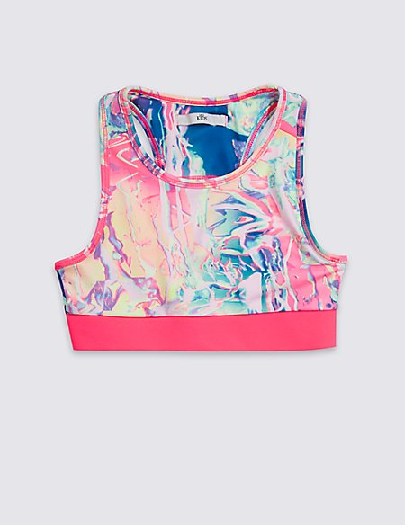 Digital Print Crop Top With Cool Comfort™ (8-16 Years)