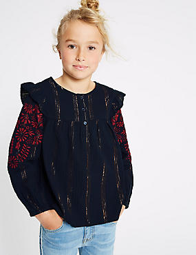 Cotton Rich Top (3-16 Years)
