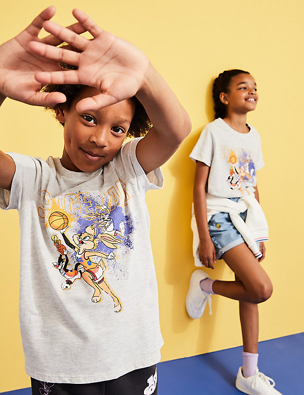 Space Jam: A New Legacy™ Cotton T-Shirt (6-16 Yrs)