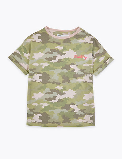 Camouflage T-Shirt (3-16 Years)