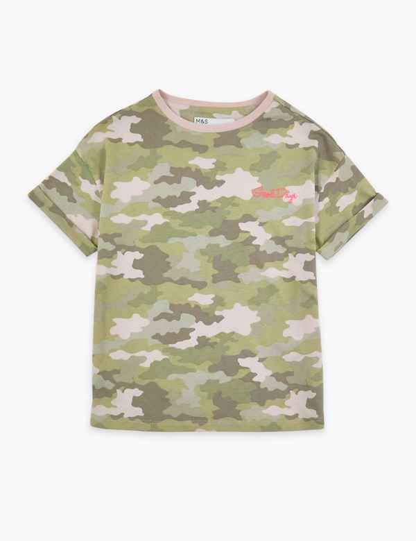 e9a9cb265cb Camouflage T-Shirt (3-16 Years)