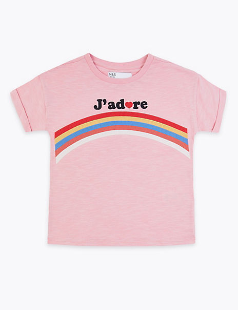 Cotton J'Adore T-Shirt (3-16 Years)