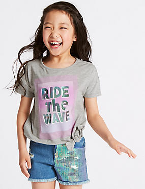 Tie Side Ride The Wave Top (3-16 Years)