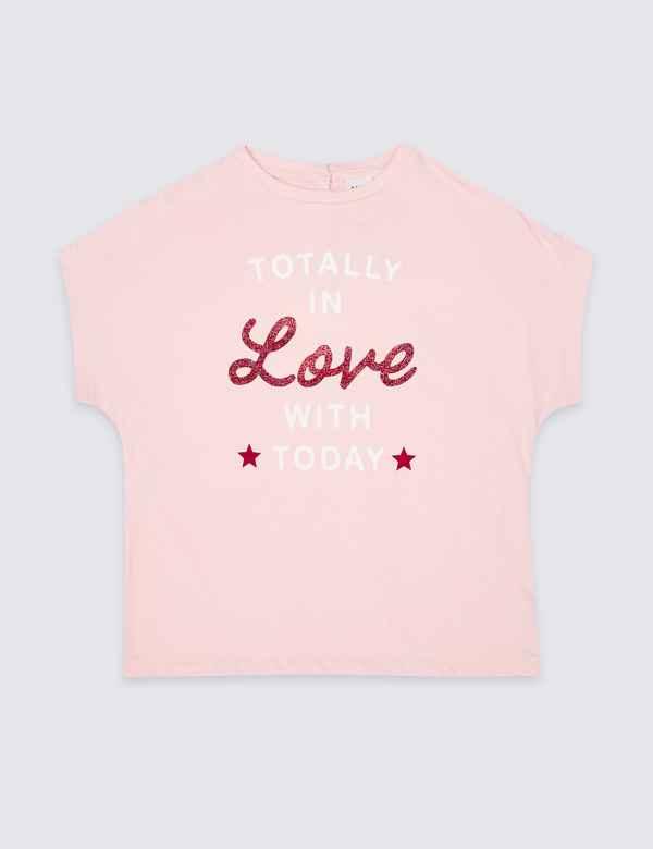 6a6db93e7915 Easy Dressing Love T-shirt (3-16 Years)