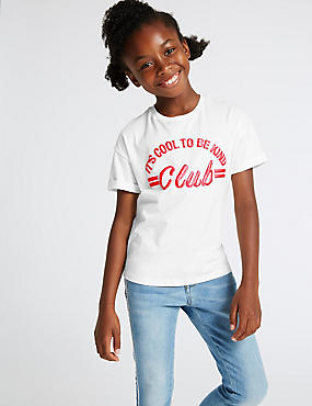 Pure Cotton Top with StayNEW™ (3-16 Years)
