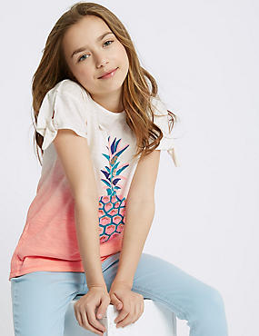 Pure Cotton Pineapple Top (3-16 Years)