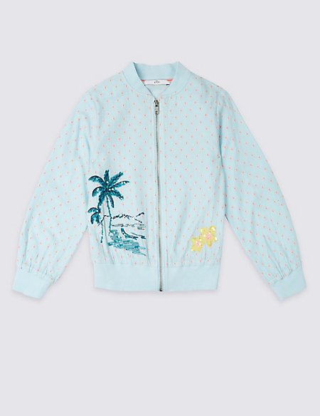 Tropical Bomber Jacket (3-16 Years)