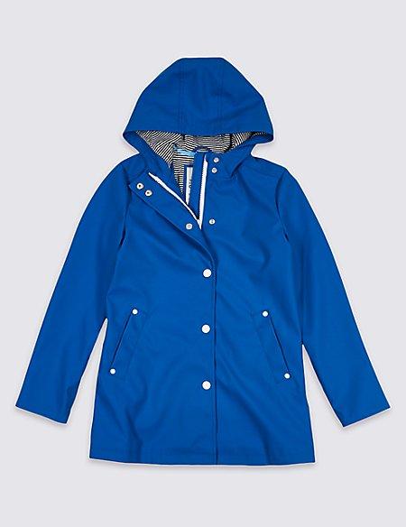 Zipped Fisherman Coat (3-16 Years)