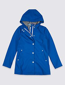 Zipped Fisherman Coat (3-16 Years)