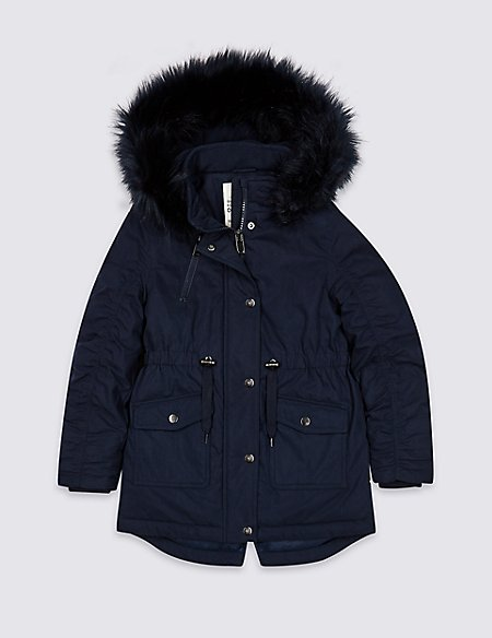 Cotton Rich Parka (3-16 Years)