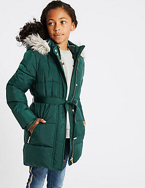 Longline Padded Coat (3-10 Years)