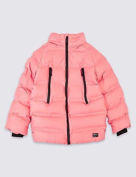 Padded Zip Through Coat with Stormwear™ (3-16 Years)