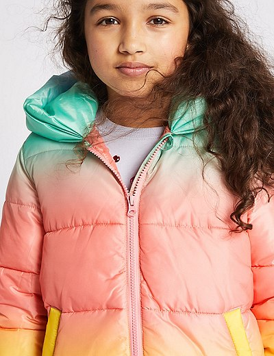 39b20f41925a Ombre Padded Coat with Stormwear™ (3-16 Years)