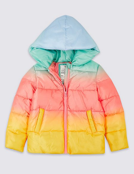 Ombre Padded Coat with Stormwear™ (3-16 Years)