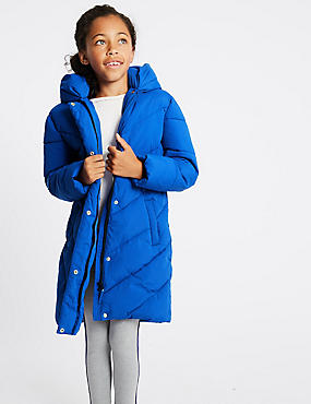 Longline Duvet Coat (3-16 Years)
