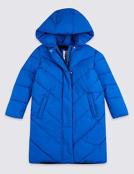 Longline Duvet Coat (3-16 Years)