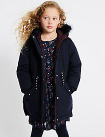 Reversible Padded Parka (3-16 Years)