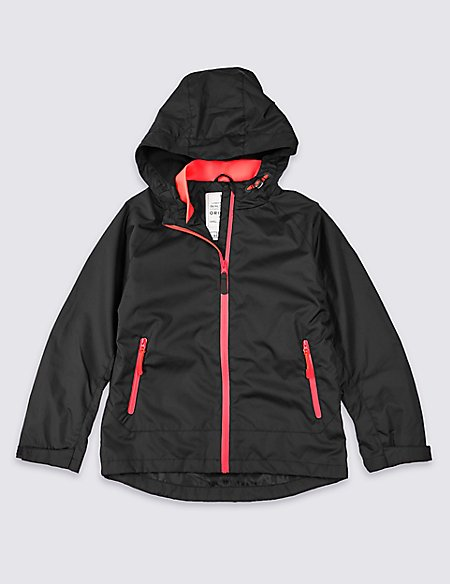 Hooded Jacket with Stormwear™ (3-16 Years)