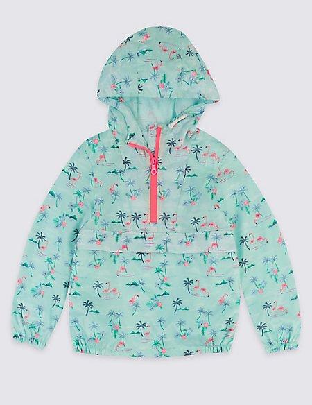 Flamingo Windrunner Coat (3-16 Years)