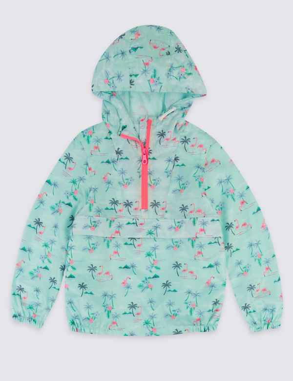a88b5f429a0b4 Flamingo Windrunner Coat (3-16 Years)