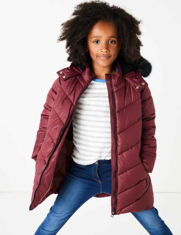 330005ca90d Girls Coats & Jackets | M&S