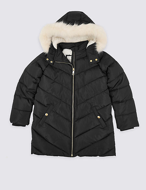 Stormwear™ Padded Hooded Coat (3-16 Years)