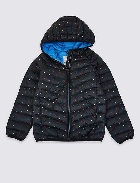 Stormwear™ Padded Spot Print Coat (3-16 Years)