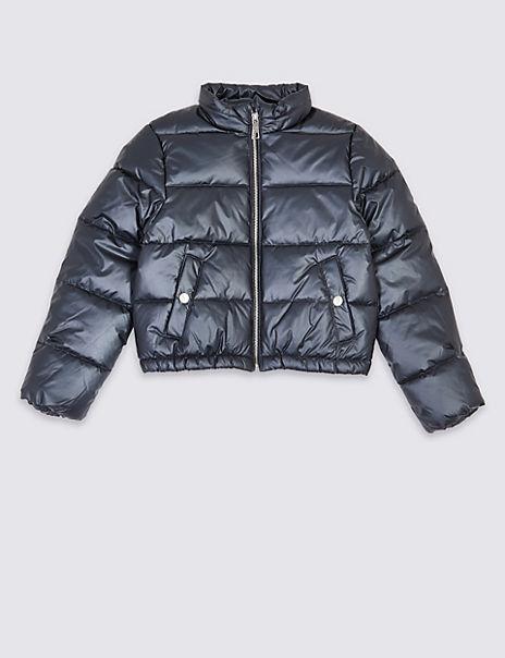 Sparkle Puffa Jacket (3-16 Years)