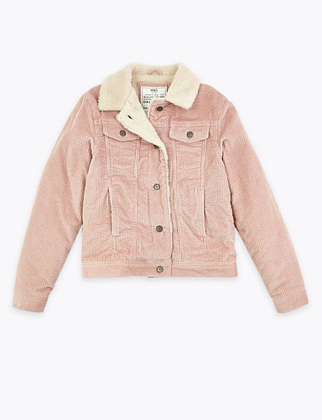 Pure Cotton Cord Trucker Jacket (3-16 Years)