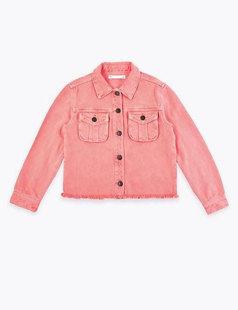 Coloured Denim Jacket (6-16 Years)