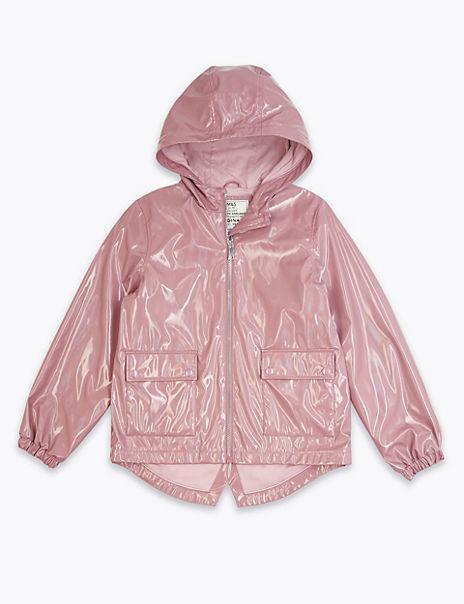 Stormwear™ Metallic Fisherman Coat (6-16 Years)
