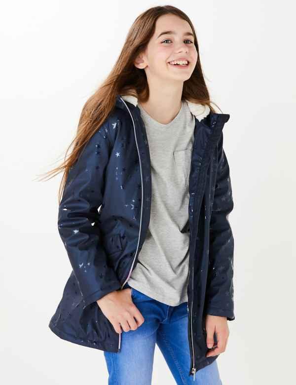 clp60448052: Stormwear™ Star Print Fisherman Raincoat (6-16 Yrs)