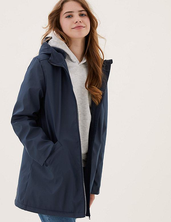 Stormwear™ Fur Lined Fisherman Coat (6-16 Yrs)