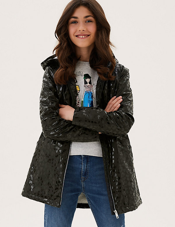 Stormwear™ Animal Print Fisherman Raincoat (6-16 Yrs)