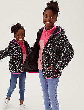 The Stormwear™ Floral Lightweight Padded Jacket (2-16 Yrs)