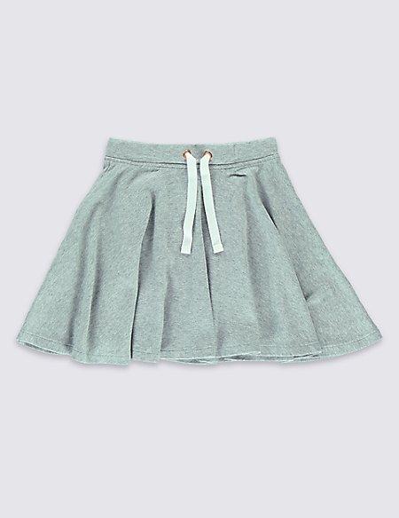 Pure Cotton Skater Skirt (5-14 Years)