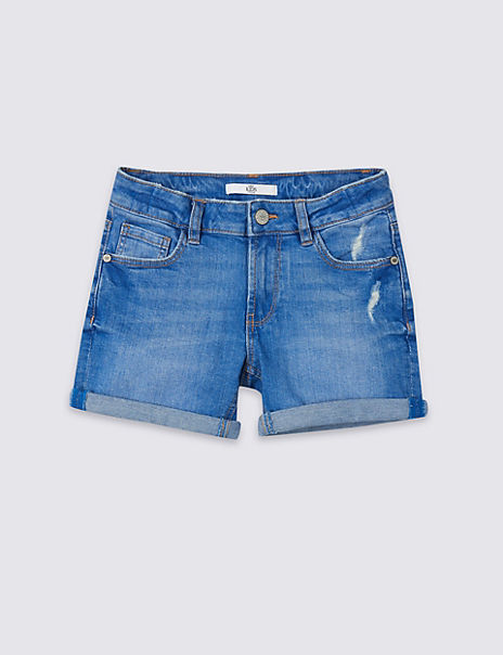 Denim Shorts with Stretch (3-16 Years)