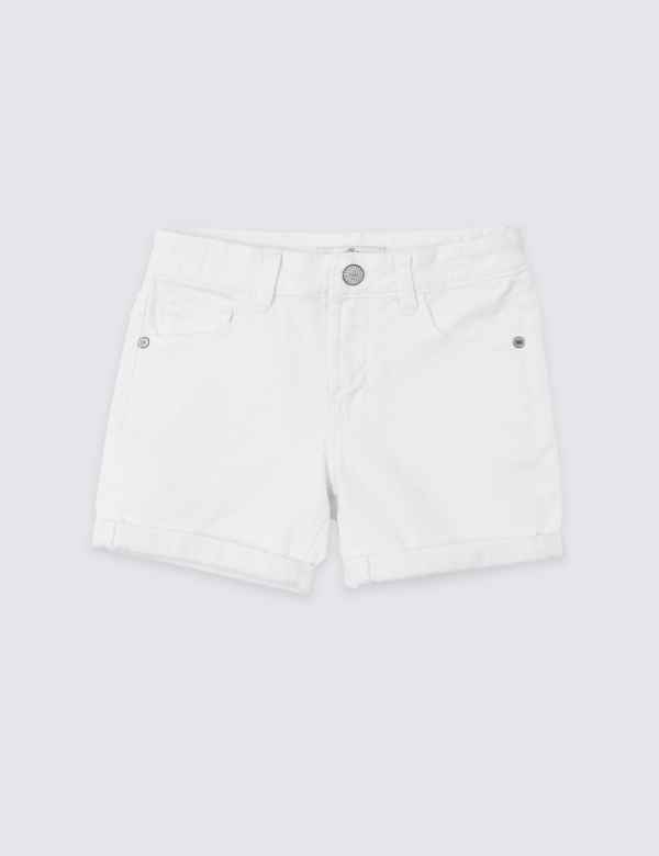 ba2df6d097 Denim Shorts with Stretch (3-16 Years)