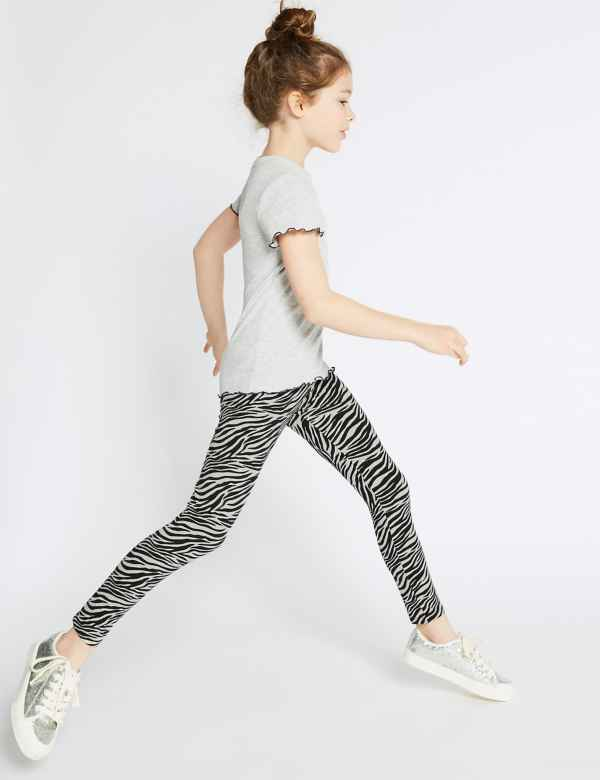c8c7bc50c7e Cotton Rich Leggings with Stretch (3-16 Years)