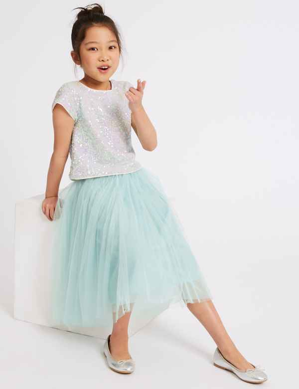 ae6a9d7ba9 Longline Tutu Skirt (3-16 Years)