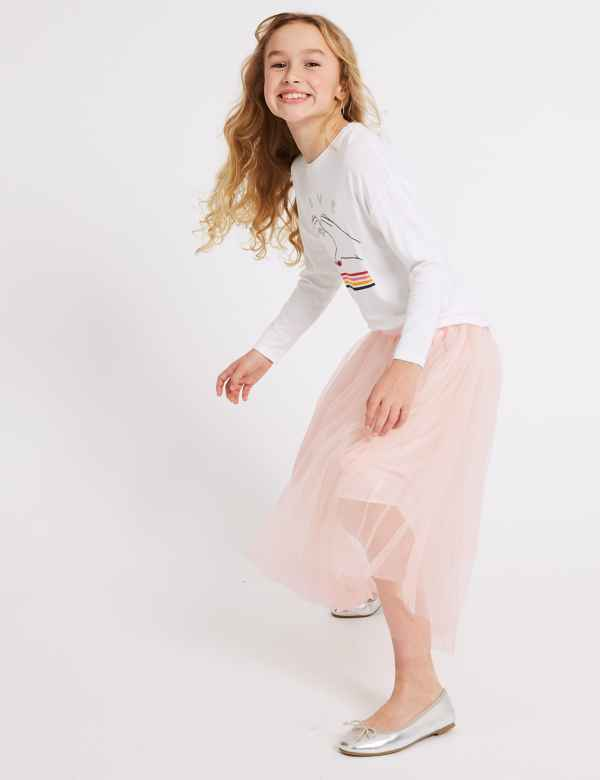 d2bc50b233 Longline Tutu Skirt (3-16 Years)