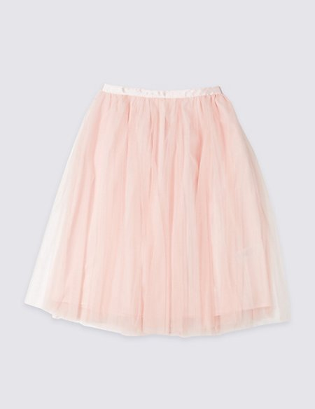 Longline Tutu Skirt (3-16 Years)
