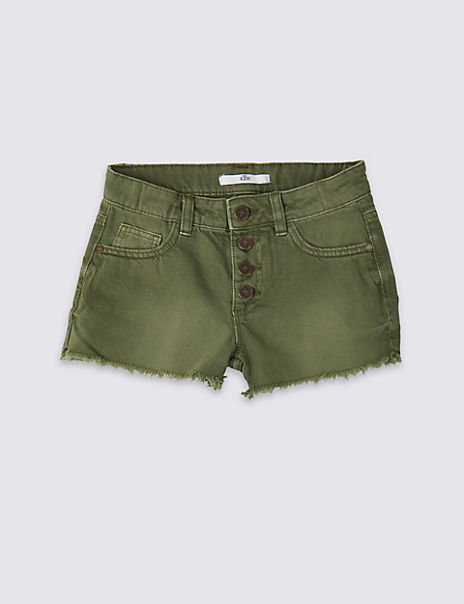 Pure Cotton Shorts (3-16 Years)