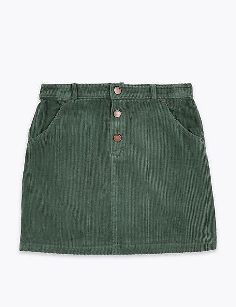 Cord Skirt (6-16 Years)